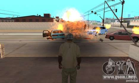 Hot adrenaline effects v1.0 para GTA San Andreas tercera pantalla