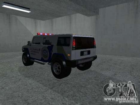 NOOSE Patriot de GTA 4 para GTA San Andreas left