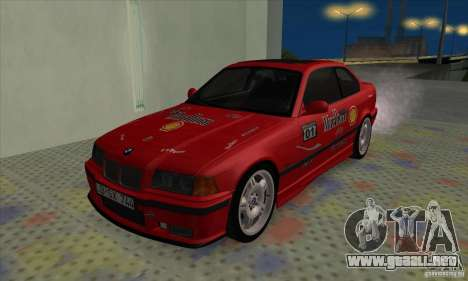 BMW M3 E36 para GTA San Andreas interior