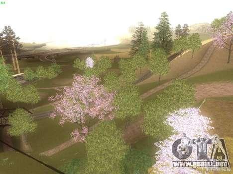 Spring Season v2 para GTA San Andreas tercera pantalla