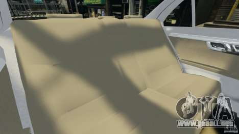 Mercedes-Benz C350 Avantgarde v2.0 para GTA 4 vista lateral