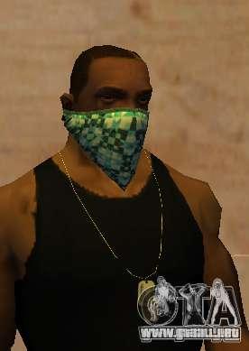 New Bandanas Style para GTA San Andreas tercera pantalla