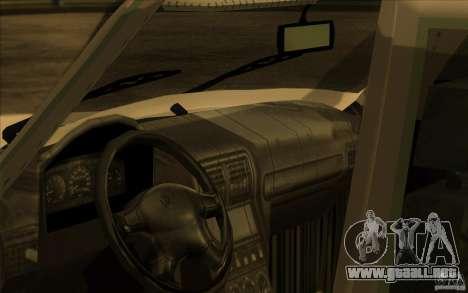 Volga GAZ 311021 para GTA San Andreas vista hacia atrás