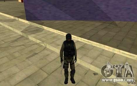 Fuerzas especiales-CJ para GTA San Andreas