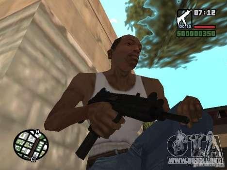 UZI para GTA San Andreas