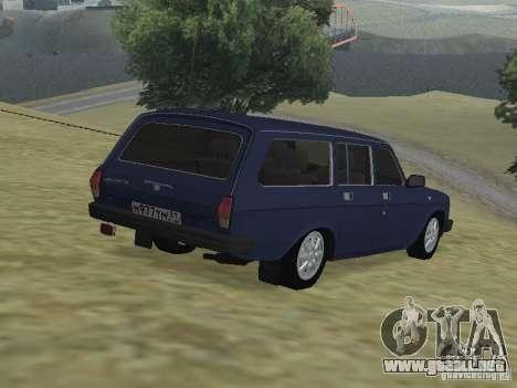 GAZ Volga 310221 para GTA San Andreas left