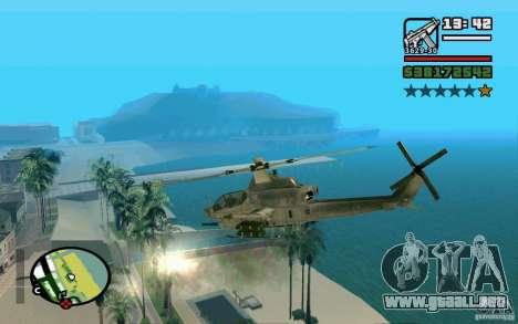 Bell AH-1Z Viper para GTA San Andreas left