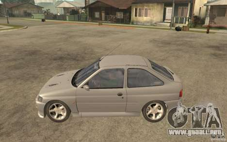 Ford Escort RS Cosworth 1992 para GTA San Andreas left