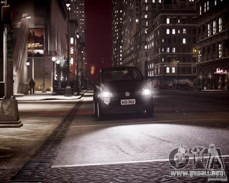 Volkswagen Fox 2011 para GTA 4 vista desde abajo