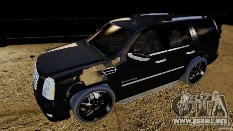 Cadillac Escalade 2007 v3.0 para GTA 4 left