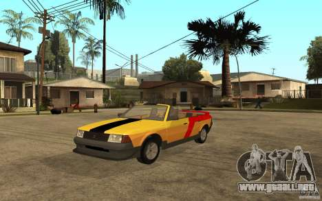 Moskvich 2141 Cabriolet para GTA San Andreas left