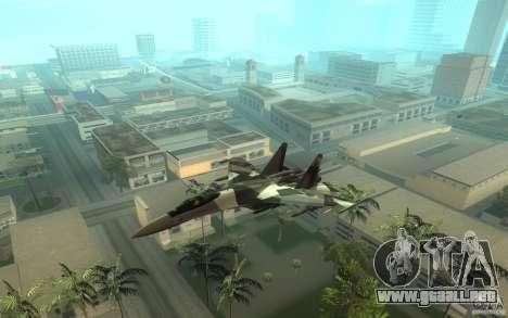 Su-35 BM v2.0 para GTA San Andreas