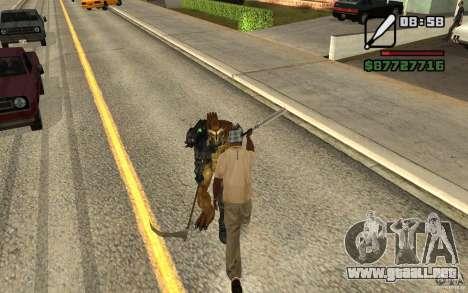 CJ caza V 2.0 para GTA San Andreas