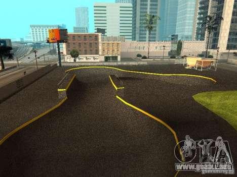 New SkatePark para GTA San Andreas tercera pantalla