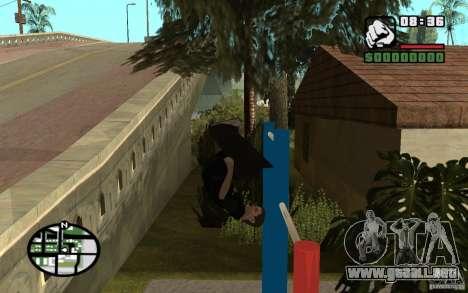 Barras horizontales para GTA San Andreas sucesivamente de pantalla