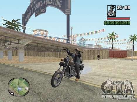 Vagos Biker para GTA San Andreas tercera pantalla