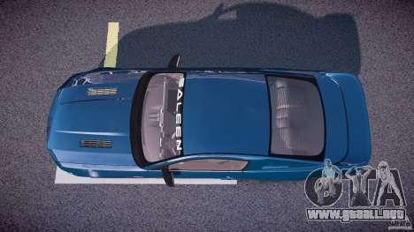 Saleen S281 Extreme - v1.1 para GTA 4 visión correcta