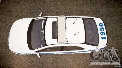 Honda Accord Type R NYPD (City Patro 1950l) ELS para GTA 4 visión correcta