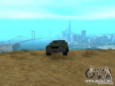 Emperador Rusty de GTA 4 para GTA San Andreas vista hacia atrás