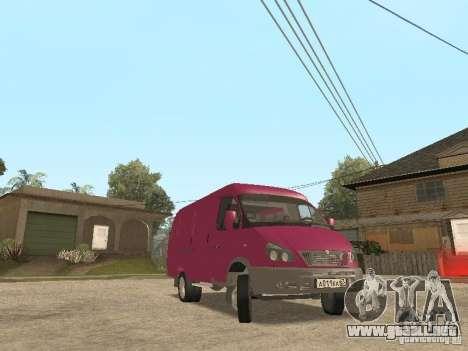 2705 Gacela para la vista superior GTA San Andreas