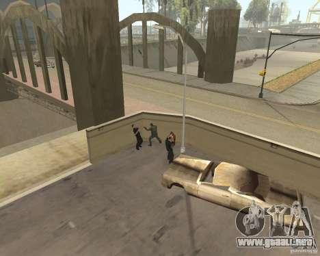 Locos vagos para GTA San Andreas quinta pantalla