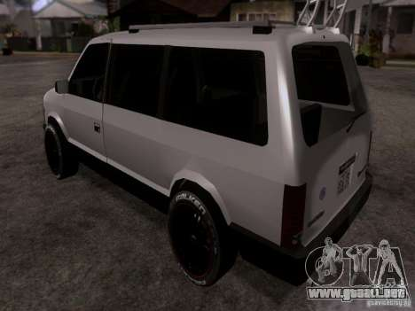 Plymouth Grand Voyager 1970 para GTA San Andreas left