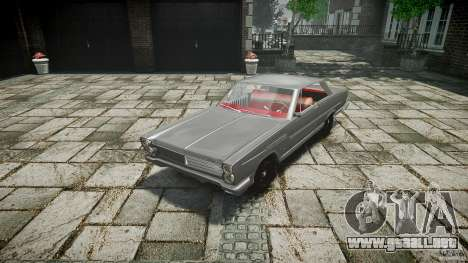 Ford Mercury Comet Caliente Sedan 1965 para GTA 4