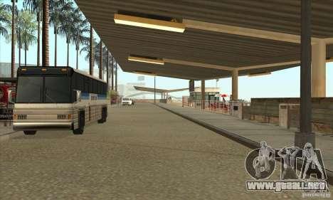 BUSmod para GTA San Andreas novena de pantalla