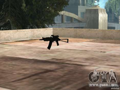 Pak versión doméstica armas 2 para GTA San Andreas décimo de pantalla