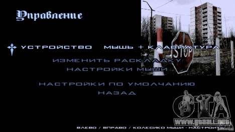 Pantallas de carga Chernobyl para GTA San Andreas quinta pantalla