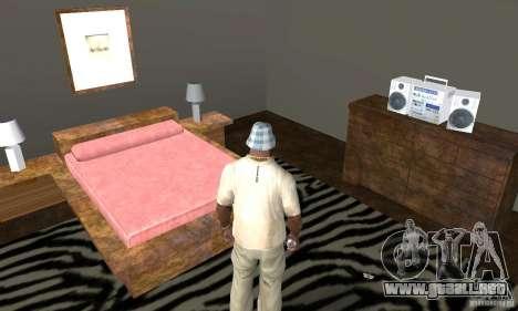 Nuevas casas de seguridad interiores para GTA San Andreas décimo de pantalla