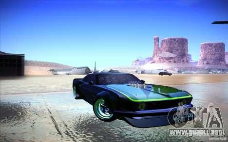 Ford Mustang RTR Drift para GTA San Andreas left