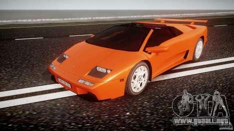 Lamborghini Diablo 6.0 VT para GTA 4
