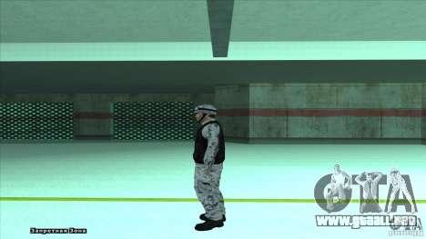 Army Soldier v2 para GTA San Andreas tercera pantalla