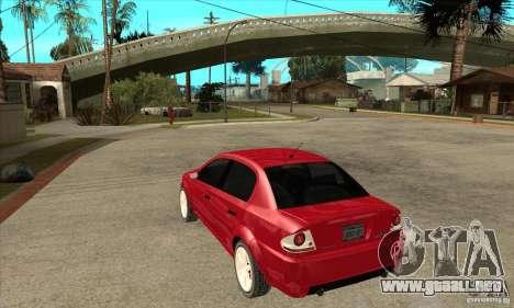 GTA IV Premier para GTA San Andreas vista posterior izquierda