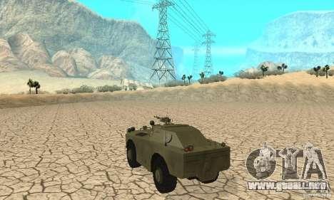 BRDM-1 piel 1 para la visión correcta GTA San Andreas