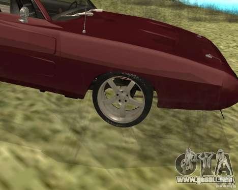 Dodge Charger Daytona para la visión correcta GTA San Andreas