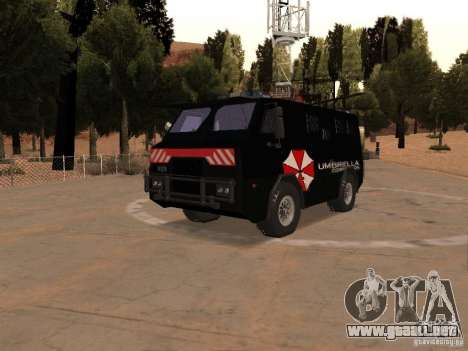 AM 7.0 Umbrella Corporation para GTA San Andreas