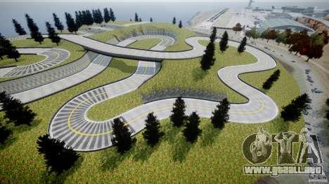 Edem Hill Drift Track para GTA 4 sexto de pantalla