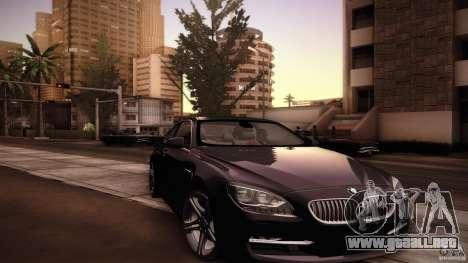 BMW 640i Coupe para la vista superior GTA San Andreas