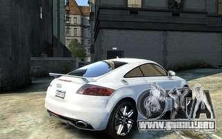 Audi TT RS 2010 para GTA 4 left