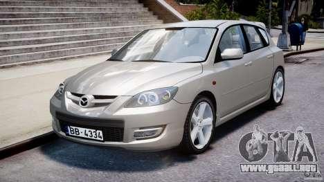 Mazda 3 2004 para GTA 4 vista interior