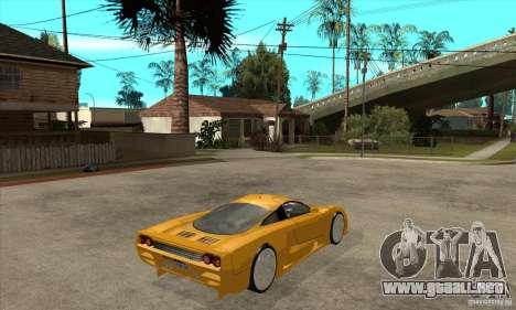 Saleen S7 Twin Turbo para la visión correcta GTA San Andreas