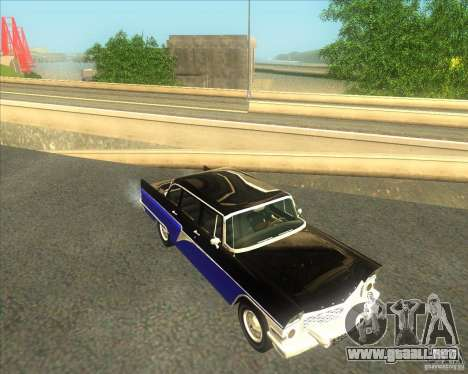GAZ 13 Chaika para la visión correcta GTA San Andreas