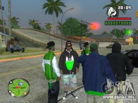 NEW Ryder para GTA San Andreas tercera pantalla
