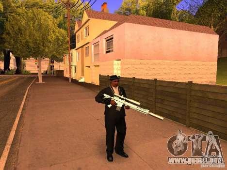 TeK Weapon Pack para GTA San Andreas sucesivamente de pantalla