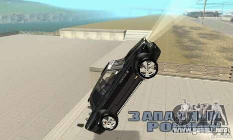 Tunning 2106 VAZ Fantasy ART para vista inferior GTA San Andreas