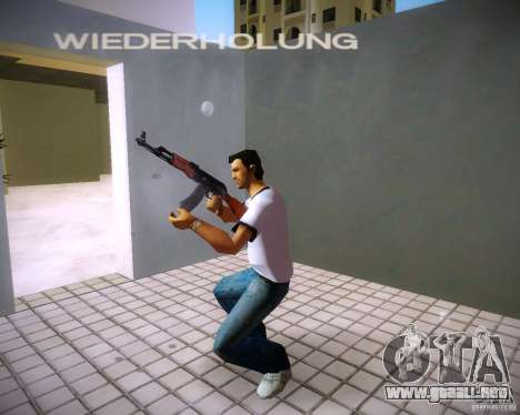 AK-47 para GTA Vice City sucesivamente de pantalla