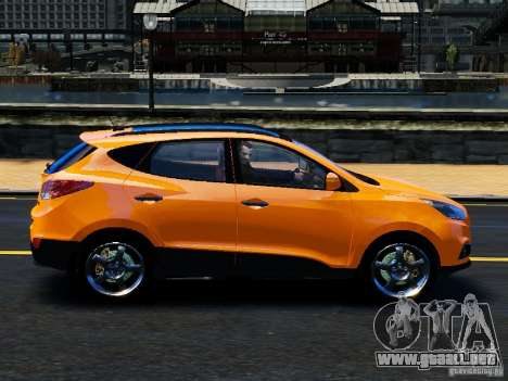Hyundai ix35 2010 Final para GTA 4 left
