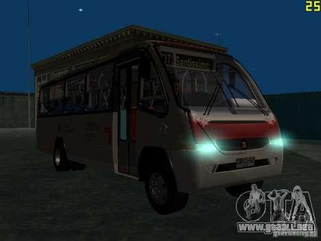 Marcopolo G6 para visión interna GTA San Andreas